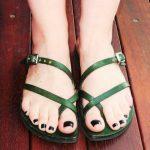 Leather Strap Sandal