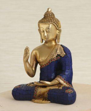 Artistic Mosaic Buddha Statue