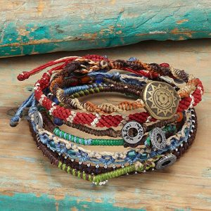 Story of Earth Wrap Bracelets