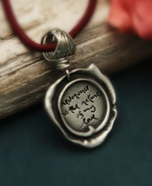 Thich Nhat Hanh Reverence Pendant Necklace